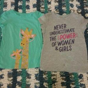 BUNDLE 3 SAVE 30% Girls 5T shirt bundle